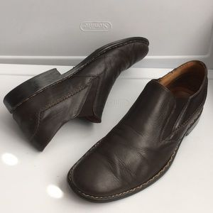 John Varvatos Italian leather loafers dress shoes